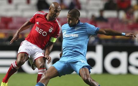 El Zenit super� c�modamente al Benfica