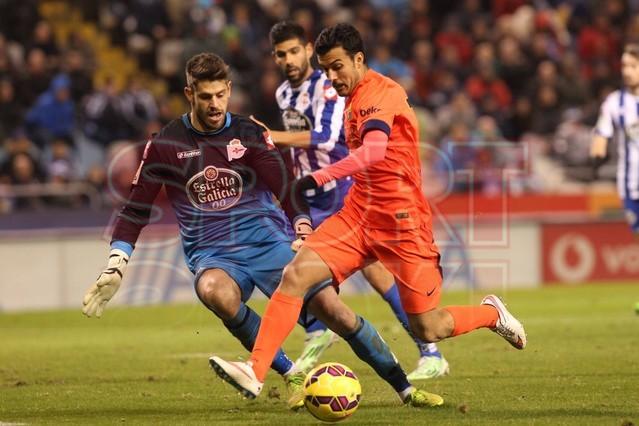 صور : مباراة ديبورتيفو لاكورونيا - برشلونة 0-4 ( 18-01-2015 )  1421614440287
