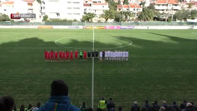 Los siete goles de la selección femenina a Montenegro