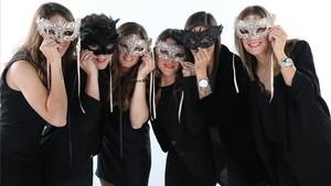 Olga, Laura, Sandra, Ruth, Jenni y Alexia vivirán esta noche de Fin de Año rodeadas de sus seres queridos y con la mirada puesta en un 2107 cargado de objetivos