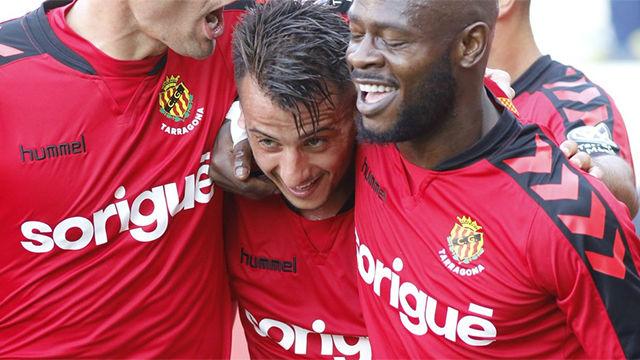 Video resumen: Nàstic - Mirandés (4-1) - Liga1|2|3