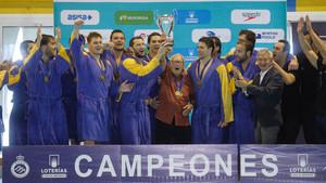 El Atlétic Barceloneta, de nuevo campeón de Liga