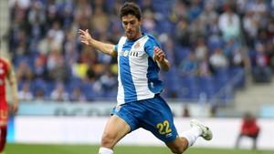 Dídac Vilà en su última etapa en el Espanyol