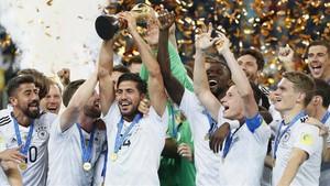 Alemania ganó ante Chile la primera Copa Confederaciones de su historia