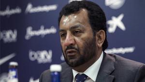 Al Thani cargó contra Fornals por su marcha