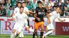 Joao Cancelo jugó en el último amistoso del Valencia ante el Werder Bermen
