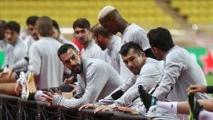 El Besiktas, Negredo en la imagen, entrenó ya en Mónaco