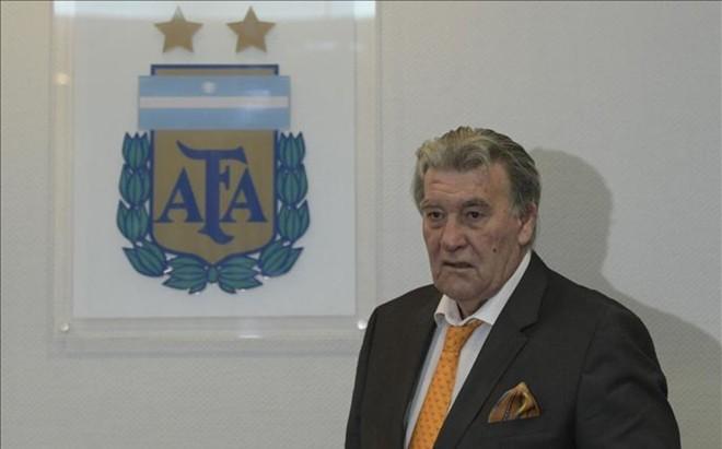 Armando P�rez, presidente de la Comisi�n Fiscalizadora de AFA
