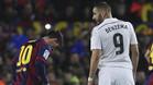 La prepotencia de Benzema al compararse con Leo Messi