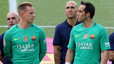 Luis Enrique on the behaviour of Claudio Bravo and Ter Stegen
