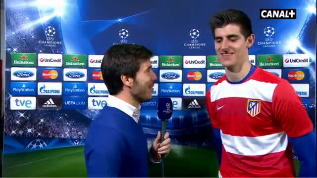Courtois responde al posible inter�s del Madrid