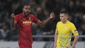 El doblete de Bakambu clasificó al Villarreal