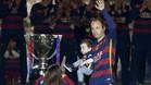 """Iniesta: """"Nuestra reacci�n fue de campe�n, de orgullo"""""""