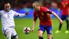 Iniesta y Thiago lideran la victoria de España ante Israel