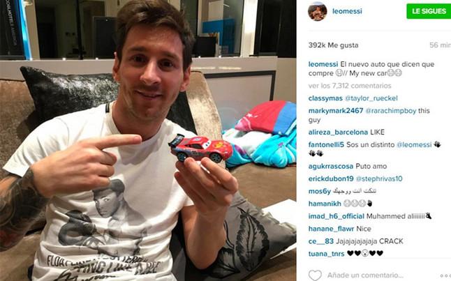 Este es el 'Ferrari' que se compr� Messi