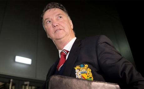 Louis Van Gaal, entrenador del Manchester United.