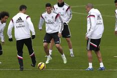 El Madrid ya prepara su partido ante el EIbar