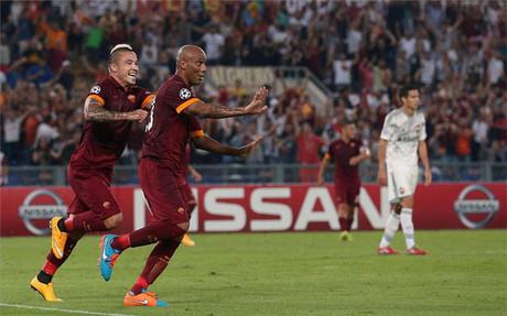 La Roma arroll� al CSKA