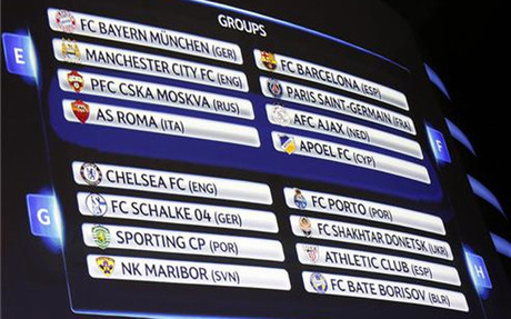 Todo preparado para comenzar la Champions League