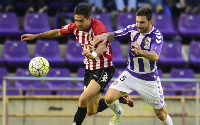 Valladolid y Girona firmaron tablas en Zorrilla