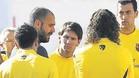 Guardiola motiv� al equipo