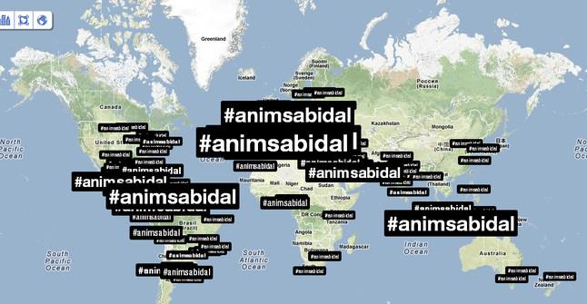 El mundo entero se acordó de Abidal en Twitter