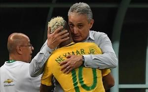 Neymar jugará con su selección contra Uruguay y Paraguay
