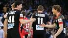 Alemania fue muy superior a Croacia (28-21) y terminó primera en el Grupo C