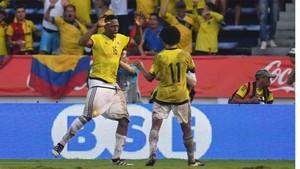Yerry Mina, jugador colombiano del Palmeiras