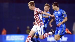 Rakitic volvió a ser titular con Croacia