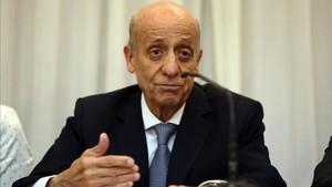 Julio César Maglione, presidente de la FINA