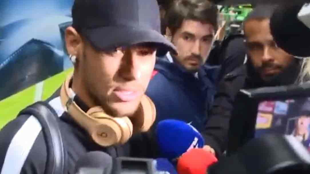 Neymar habló de la MCN