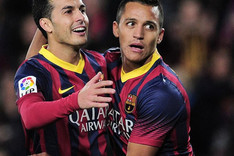 Alexis y Pedro vuelven al once inicial del Bar�a contra el Athletic Club