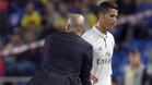As� fue la bronca entre Cristiano y Zidane