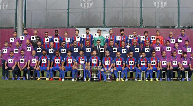 El equipo se hizo la foto oficial de esta temporada junto al staff t�cnico y el presidente