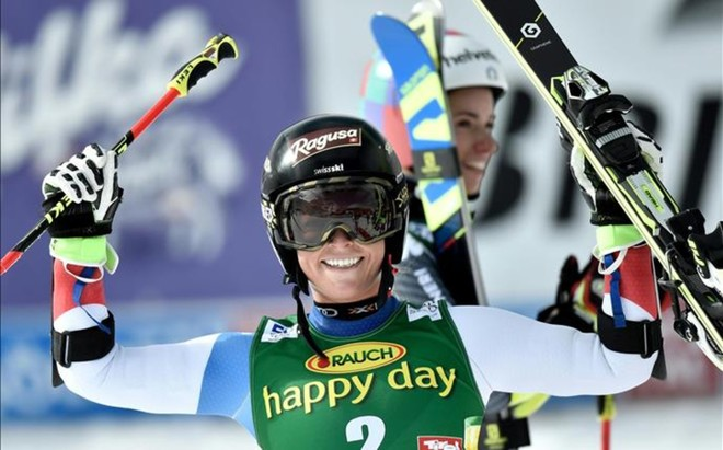 Lara Gut ha firmado su primer triunfo de la temporada