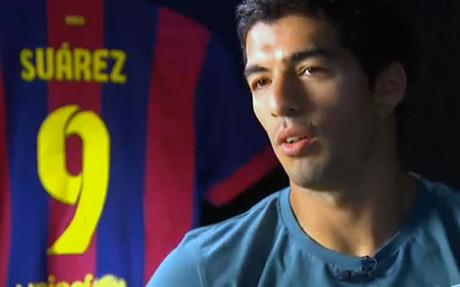 Luis Su�rez concedi� una entrevista a Esport3