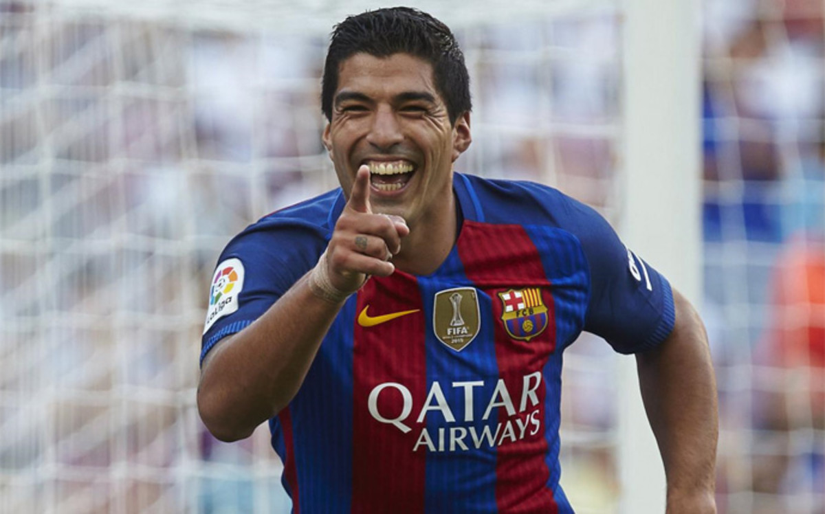 Suárez, centenario con el FC Barcelona