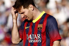 Messi no encontr� porter�a en Valladolid