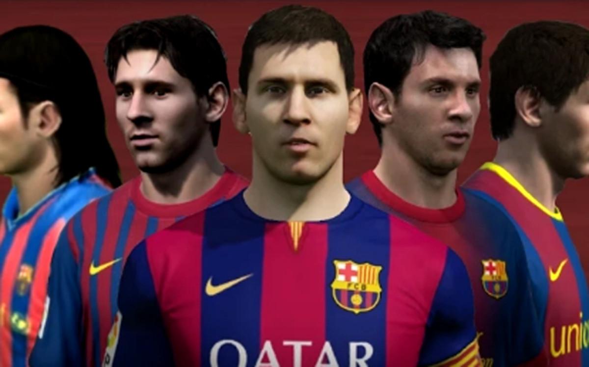 Leo Messi y su brutal evolución en el FIFA