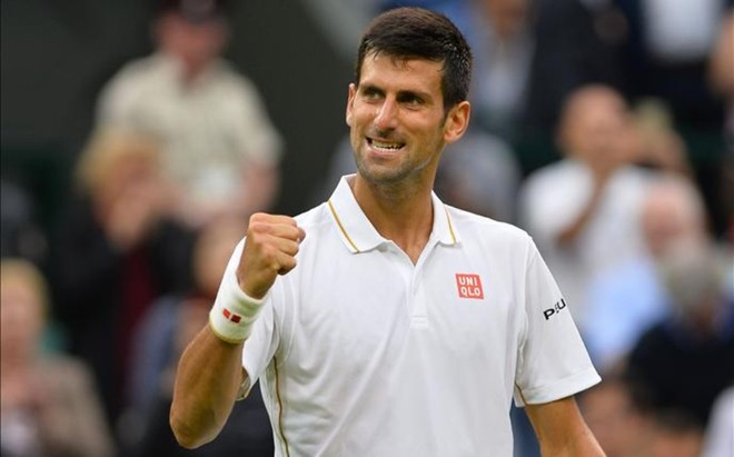 Novak Djokovic suma ya 30 victorias en Grand Slam