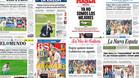 La prensa espa�ola considera la eliminaci�n en octavos el fin de una etapa