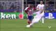 Sergio Ramos was lucky not to be sent off for dirty foul on Carrasco