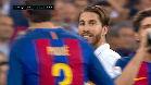 Video Resumen: Ramos fue expulsado por una entrada temeraria a Messi