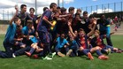 Tito Vilanova vio a su hijo ganar la Liga con el cadete del Bara