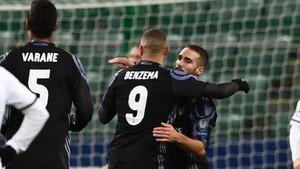 Benzema ha marcado para el Real Madrid