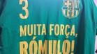 Las camisetas de calentamiento del FC Barcelona Lassa de hockey patines en Bassano