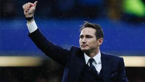 Lampard recibió el cariño de sus antiguos aficionados