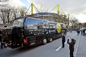 El bus del Dortmund, en una foto de archivo