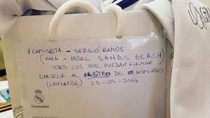 Esta es la bolsa que se llevó Hernández Hernández